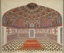 Interior of the Mausoleum of Itimad-al-Daula, Agra 562
